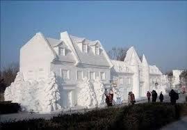 maison neige